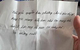 """Bắc Giang: Bé trai bị cha ruột bỏ rơi ở trụ sở tòa án cùng bức thư """"tôi không đẻ, tôi không nuôi"""" hiện ra sao?"""
