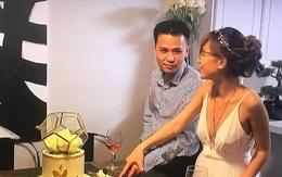 Cặp đôi Việt cưới ở Mỹ, hai họ chứng kiến qua tivi