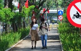 Hà Nội: Cận cảnh tuyến đường đi bộ cực đẹp mới xuất hiện trên phố Thái Hà