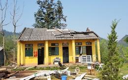 Lào Cai mưa to, dông lốc gây nhiều thiệt hại về nhà ở và hoa màu