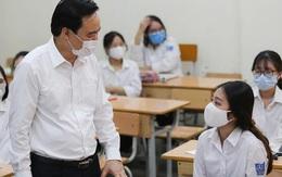 Bộ trưởng Phùng Xuân Nhạ: Không được lơ là trong phòng chống dịch bệnh tại trường học