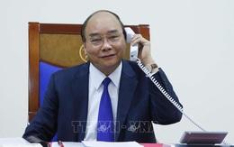 Thủ tướng Nguyễn Xuân Phúc điện đàm với TT Trump về chống dịch