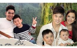 """Những bố dượng showbiz Việt: Người """"được lòng"""" con riêng, kẻ mang tiếng ngược đãi"""