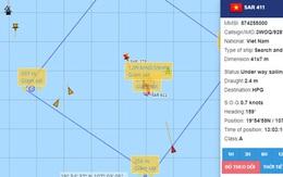 Tìm thấy tàu cá bị đâm chìm tại Hải Phòng