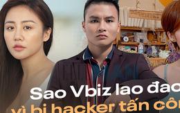 """Trước Quang Hải, nhiều sao Việt từng """"khốn đốn"""" vì bị hack Facebook"""