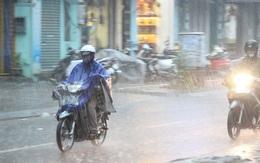 Chiều tối nay Hà Nội mưa giông, đề phòng mưa đá và gió giật mạnh