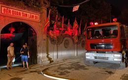 Hà Nội: Hỏa hoạn lúc nửa đêm, đền Quan Tam Lâm Du cháy rụi