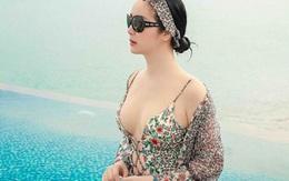 Hoa hậu Giáng My hiếm hoi khoe ảnh áo tắm