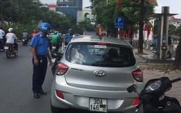 Thực hư chuyện vừa đỗ xe vào nhà vệ sinh công cộng, tài xế ngay lập tức bị lập biên bản