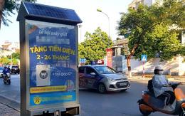 Lạ mắt với hơn 200 thùng rác công nghệ tự phát sáng ở Hà Nội