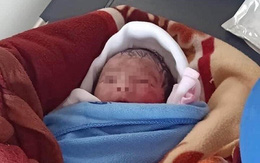 Phát hiện bé gái sơ sinh nặng 2,4kg bị bỏ rơi dưới ruộng tại Thái Bình