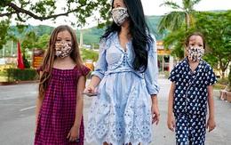 Ba mẹ con Hồng Nhung kết thúc cách ly tập trung