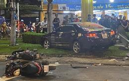 Thông tin mới nhất vụ nữ tài xế 9X lái Camry tông hàng chục xe máy giữa ngã tư