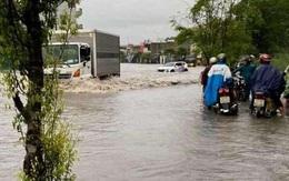 Cận cảnh nhiều khu dân cư ở Quảng Ninh ngập trong biển nước