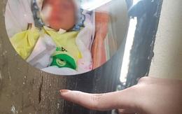 Sức khoẻ bé sơ sinh bị bỏ rơi dưới khe giữa 2 nhà hiện ra sao?