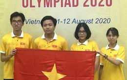Việt Nam đoạt 3 huy chương Olympic Sinh học quốc tế năm 2020