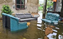 Hàng chục hộ dân ở Hải Phòng khốn khổ vì hễ mưa là ngập lụt