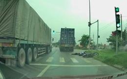 Đã truy tìm được tài xế container tông chết cô gái trẻ rồi bỏ chạy ở Hà Nội
