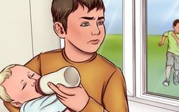"""Đừng bắt con lớn phải làm """"cha, mẹ"""" của những đứa em"""