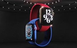 Apple Watch Series 6 ra mắt với màu đỏ mới