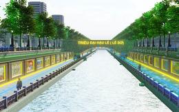 Ngỡ ngàng với mô phỏng công viên lịch sử - văn hoá – tâm linh Tô Lịch trong tương lai