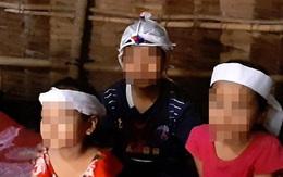 Ba đứa trẻ mồ côi trước ngày tựu trường