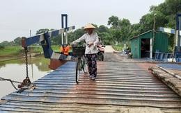 """Tỉnh Thanh Hóa chỉ đạo liên sở kiểm tra vụ gần 800 người dân """"run rẩy"""" mỗi khi qua cầu phao"""