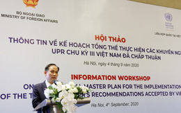 Việt Nam luôn nghiêm túc tham gia vào các chu kỳ UPR