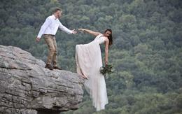 Tưởng ngày vui trở thành bi kịch khi chú rể tuột mất tay cô dâu đang ngã khỏi vách đá và bí mật của bộ ảnh cưới khiến ai cũng thở phào