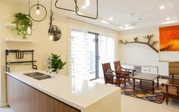 Ngắm căn hộ chung cư có view nhìn thẳng ra hồ Tây theo phong cách vintage tối giản, thoáng mát ai nhìn cũng mê