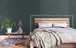 Những tông màu đẹp bất chấp năm tháng để trang trí phòng ngủ