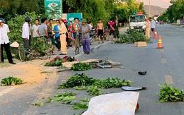 Xe tải tông trúng bốn phụ nữ