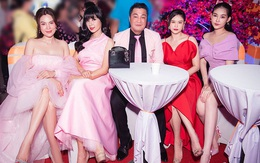 Việt Trinh nổi bật khi đọ sắc cùng đàn em nhưng người gây chú ý lại là Lý Hùng với ngoại hình khó nhận ra