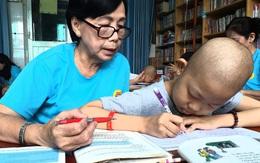Lớp học đặc biệt ở TP.HCM dành cho các bệnh nhi ung thư