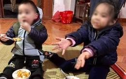 Hai cháu nhỏ bị bỏ rơi giữa trời giá rét kèm theo lá thư nói bố mẹ đã chết
