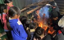 Nghệ An: Rét buốt, nhiều trường cho học sinh nghỉ học