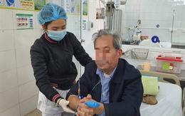 Hà Nội rét đậm rét hại, bệnh viện kín chỗ