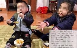 Diễn biến gây bất ngờ vụ 2 cháu bé bị bỏ rơi kèm lá thư nói bố mẹ đã chết