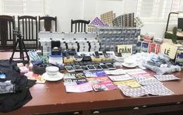 """Hà Nội: Triệt phá ổ nhóm buôn bán thiết bị cờ bạc """"bịp"""""""