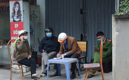 Phong tỏa căn nhà nơi có ca dương tính với SARS-CoV-2 vừa phát hiện tại quận Nam Từ Liêm – Hà Nội