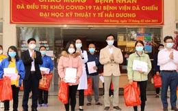 Tin vui ngày 30 Tết: 27 bệnh nhân COVID-19 tại Hải Dương được công bố khỏi bệnh
