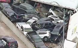 Mỹ: Hơn 130 xe đâm dồn toa vì đường trơn, gần 70 người thương vong