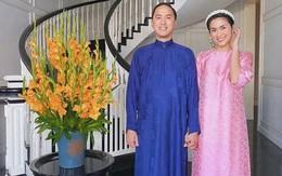 Bên trong biệt thự nhà Tăng Thanh Hà ngày Tết