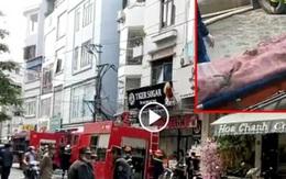 Hà Nội: Cháy nhà trong ngày cúng ông Công ông Táo, 4 người tử vong