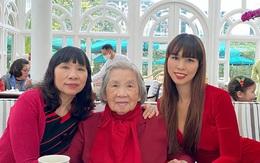 Bà nội là tổng biên tập nổi tiếng của siêu mẫu Hà Anh