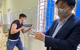Hình ảnh gấp rút triển khai bệnh viện dã chiến đầu tiên tại Điện Biên