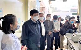 Bộ trưởng Bộ Y tế kiểm tra công tác phòng, chống dịch tại Quảng Ninh
