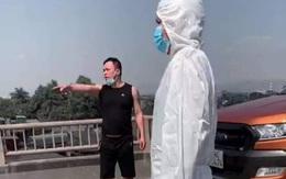Quảng Ninh: Nam thanh niên hành hung CSGT tại chốt kiểm soát COVID-19