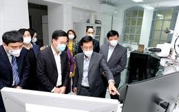 Ông Võ Văn Thưởng thăm và tri ân lực lượng ngành Y tế tại Viện Vệ sinh dịch tễ Trung ương