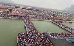 """Sở VH-TT&DL Hà Nam nói gì về cảnh """"vỡ trận"""" ở chùa Tam Chúc?"""